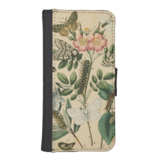 Stages of Butterfly Life by Vision Studio iPhone 5 Wallet Cases