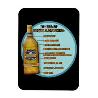 Stages of Tequila Flexible Magnets