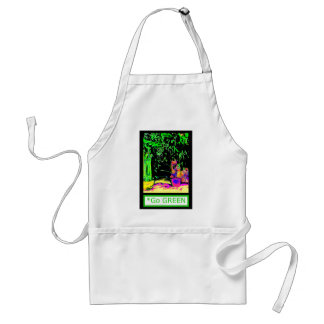 Staghorn Ferns GO GREEN jGibney The MUSEUM Zazzle Standard Apron