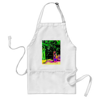 Staghorn Ferns jGibney The MUSEUM Zazzle Gifts Adult Apron