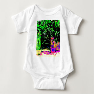 Staghorn Ferns jGibney The MUSEUM Zazzle Gifts Infant Creeper
