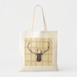 Stag's Head tote bag