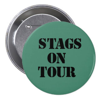 """Stags on Tour"" badges"