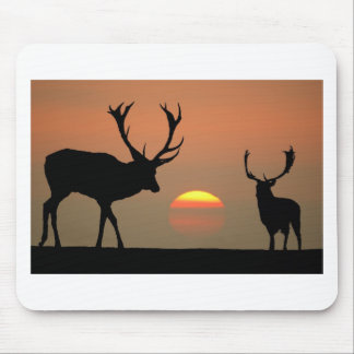 stags sunset.jpg mouse pad