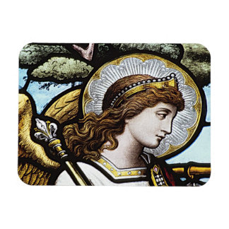 STAIN GLASS DESIGN ANGEL MAGNET