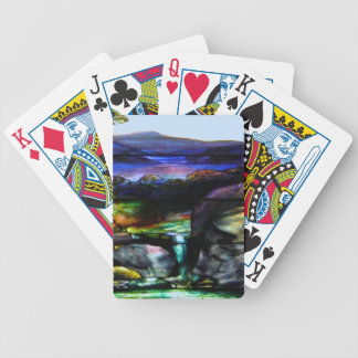 Stain Glass Nature Bicycle Playing Cards