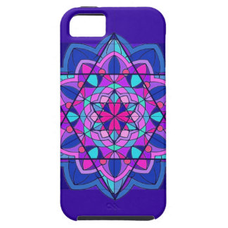 Stain Glass. The Star of David. iPhone 5 Cases