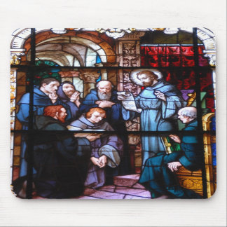 stain glass window mousepads