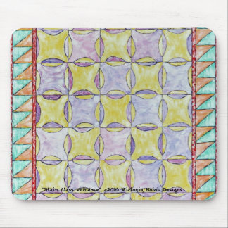 """STAIN GLASS WINDOW"", Mousepad"