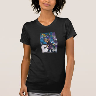 Stain Glass Witch Tshirt