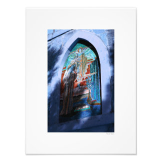 "Stained Glass 12""x16"" Photograph"