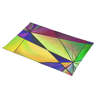 Stained Glass 5 Place Mat