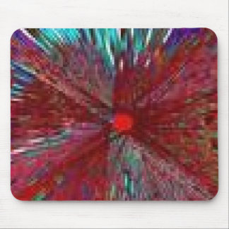STAINED GLASS 5G MOUSE PAD