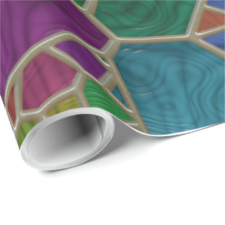 Stained Glass 9 Wrapping Paper