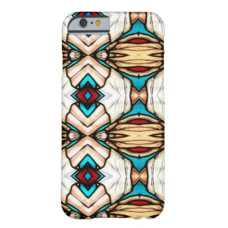 Stained Glass Abstract Art Background Barely There iPhone 6 Case