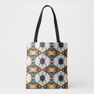 Stained Glass Abstract Art Background Tote Bag