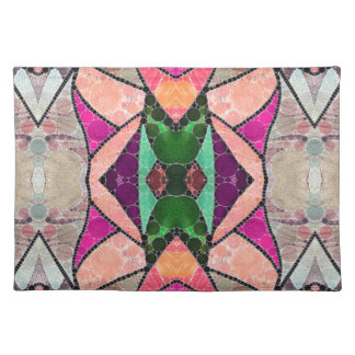 Stained Glass Abstract Placemat