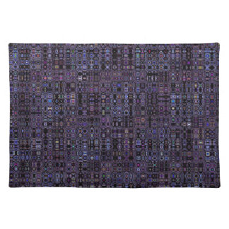 Stained Glass Abstract Placemat Place Mat