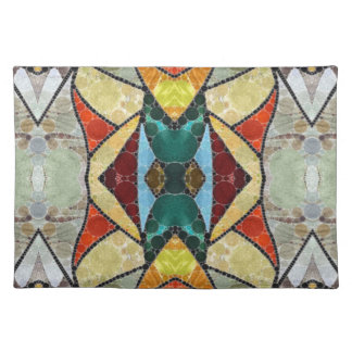 Stained Glass Abstract Placemats