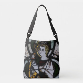 Stained Glass Angel Cross Body Bag