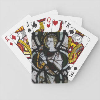 Stained Glass Angel Playing Cards