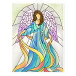 Stained Glass Angel Postcards