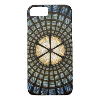 Stained Glass Apple iPhone 7, Barely Phone Case