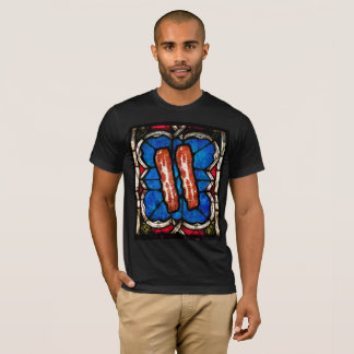 Stained Glass Bacon T-Shirt