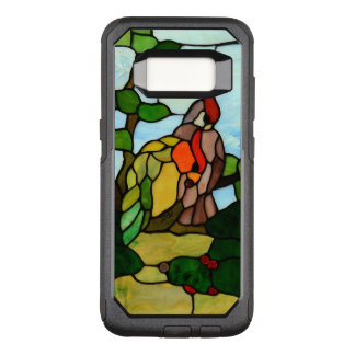 Stained Glass Birds OtterBox Commuter Samsung Galaxy S8 Case