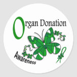 Stained Glass Butterfly 2 Organ Donation