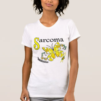Stained Glass Butterfly 2 Sarcoma Tshirts