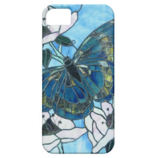 Stained Glass Butterfly iPhone 5 Cases