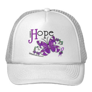 Stained Glass Butterfly Leiomyosarcoma Trucker Hat