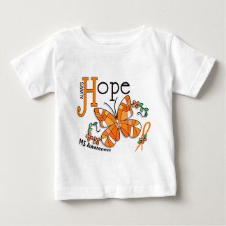 Stained Glass Butterfly MS Baby T-Shirt