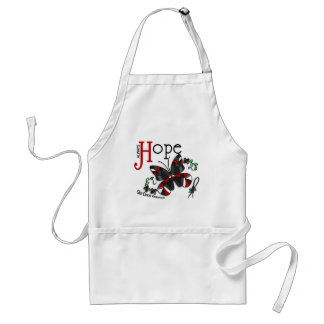 Stained Glass Butterfly Skin Cancer Standard Apron