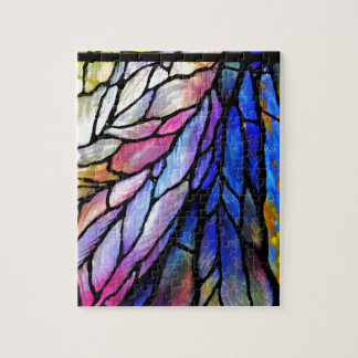 Stained Glass by Tiffany Jigsaw Puzzle