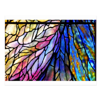 Stained Glass by Tiffany Postcards