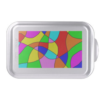 Stained Glass Cake Pan Cake Tin