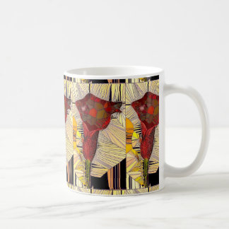 Stained Glass Calla Lily Mug