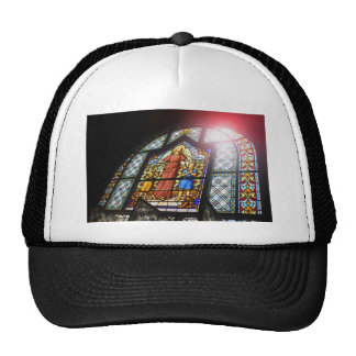 Stained glass cap