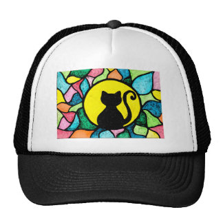 Stained Glass Cat Hat