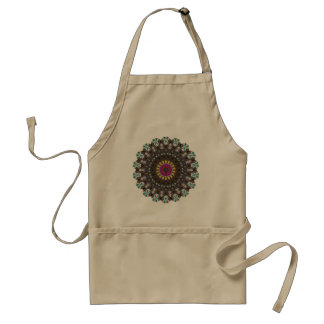 Stained Glass Cathedral Window Pattern Standard Apron