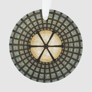 Stained Glass Circle Ornament