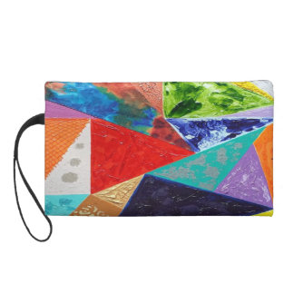 Stained Glass cosmetic wristlet