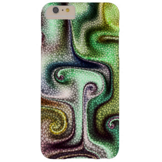 Stained Glass custom fractal art Barely There iPhone 6 Plus Case