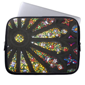 Stained Glass detail 2 Laptop Sleeve