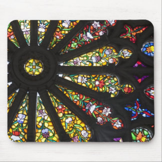 Stained Glass detail 2 Mousepads