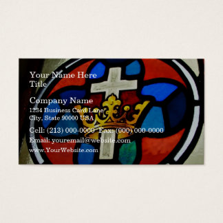 Stained Glass detail Business Card