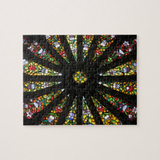 Stained Glass detail Jigsaw Puzzle