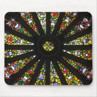 Stained Glass detail Mouse Pad